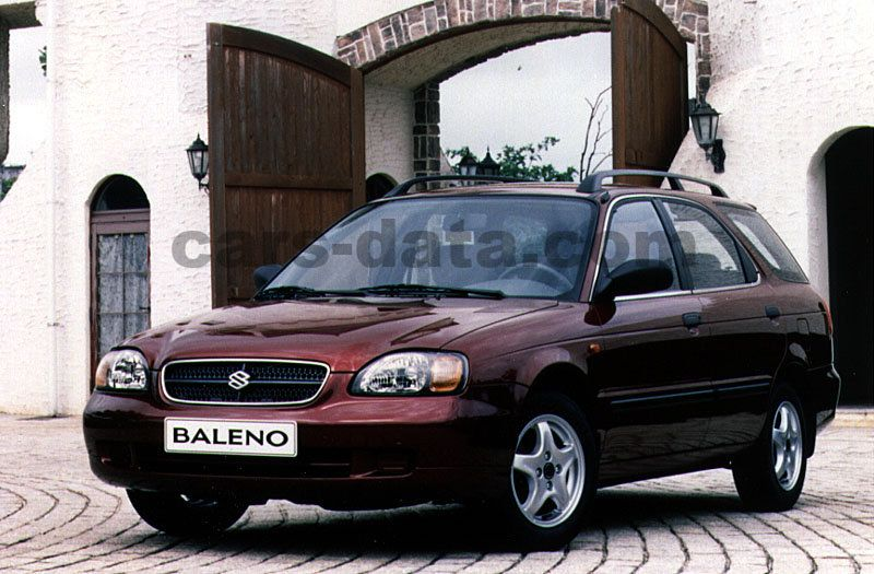 Suzuki Baleno Wagon 1.6 GLX, Automatic, 1998 - 2001, 96 Hp, 5 doors Technical Specifications