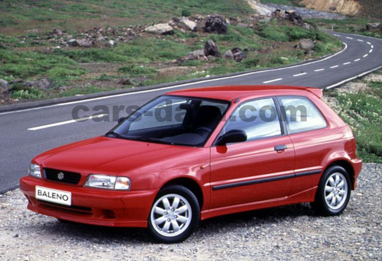 Suzuki Baleno 13 GS Automatic 1996