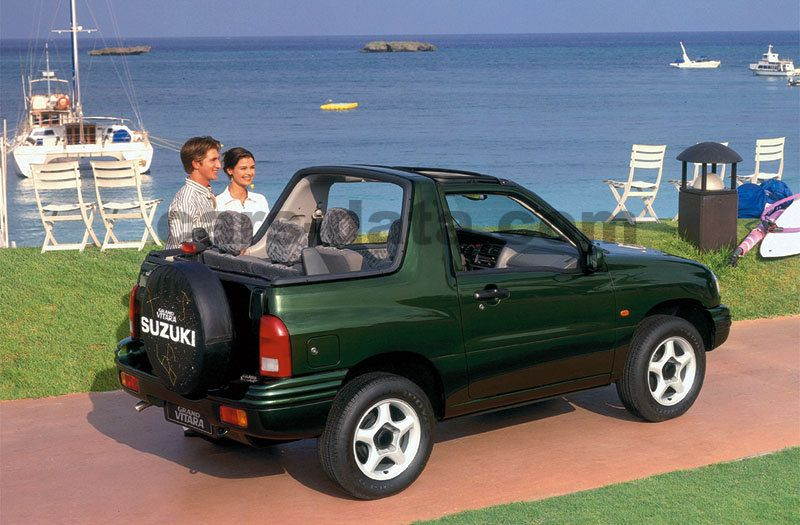 Suzuki Grand Vitara Cabrio 1999 imágenes (1 de 10) | cars ...