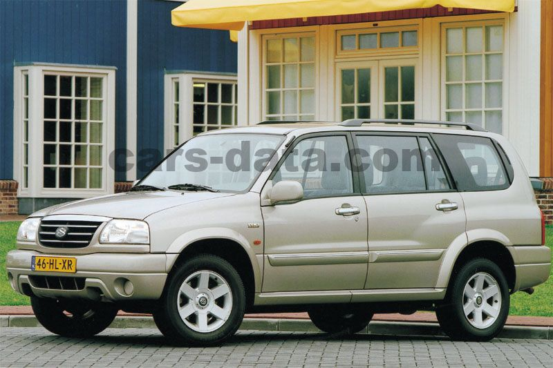 2004 Suzuki Xl7 >> Suzuki Grand Vitara XL-7 2.7 V6, Manual, 2001 - 2004 173 Cv, 5 puertas - Especificaciones de ...