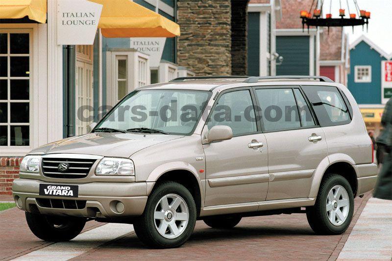 Modne ubrania Suzuki Grand Vitara XL-7 2001 pictures (4 of 6) | cars-data.com DX89
