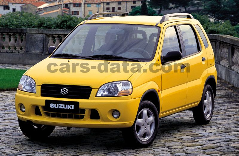 suzuki ignis 1 3 special manual 5 door specs cars. Black Bedroom Furniture Sets. Home Design Ideas