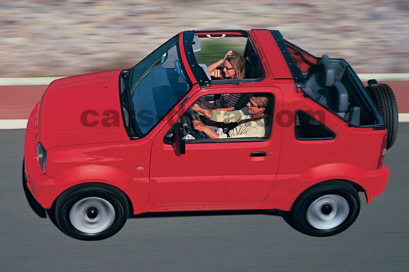 suzuki jimny cabrio 2000 pictures 6 of 8 cars. Black Bedroom Furniture Sets. Home Design Ideas