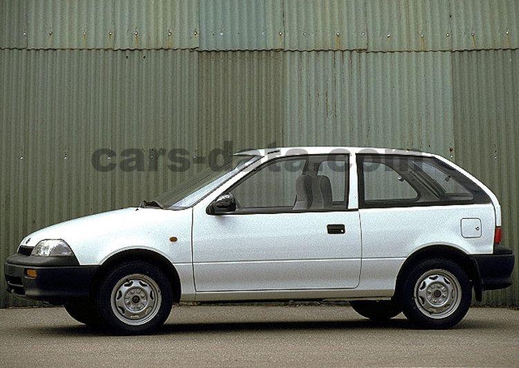 Suzuki Swift 1995 pictures (6 of 6) | cars-data com