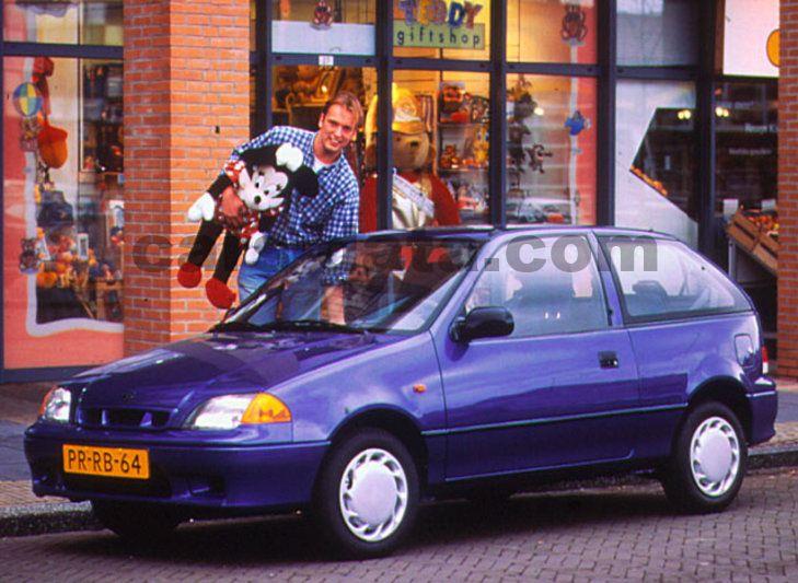 Toyota Company Latest Models >> Suzuki Swift 1.3 GS, Manual, 1997 - 2000, 68 Hp, 3 doors ...