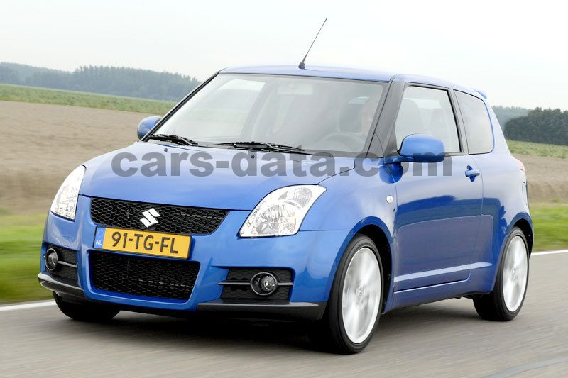 Goede Suzuki Swift 2005 pictures (3 of 26) | cars-data.com YZ-05