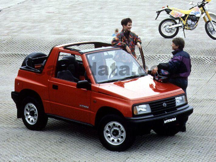 Suzuki Vitara Cabrio Pictures
