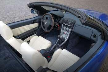 Alfa Romeo Spider - interieur