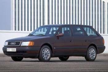 audi 100 avant 2 6 e quattro manual 5 door specs cars data com rh cars data com Audi 100 Sedan Paper Model Audi 100 Parts