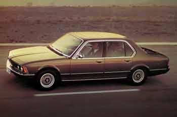 BMW 745i, Automatic, 1980 - 1982, 252 Hp, 4 doors Technical ...