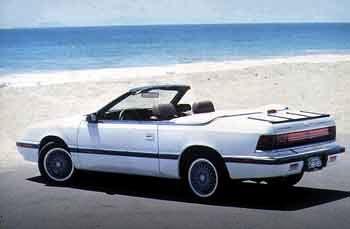 Chrysler Le Baron Convertible