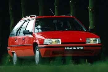 citroen bx break 16 rs manual 5 door specs cars data com rh cars data com Citroen Cactus Citroen BX Interior