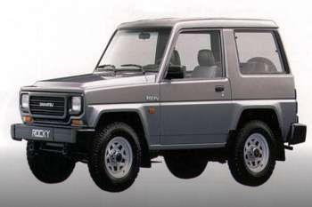 1988 Daihatsu Rocky Hardtop