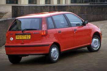 fiat punto 75 sx manual 5 door specs cars data com rh cars data com