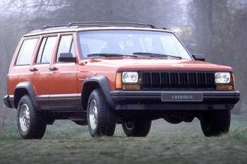 jeep cherokee 2 1 td jamboree manual 1993 1994 87 cv 5 puertas especificaciones de coches. Black Bedroom Furniture Sets. Home Design Ideas