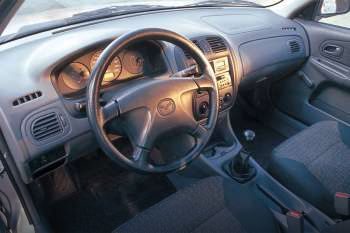 mazda 323 sedan 1998 - 2001 models - 4-door sedan
