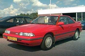 mazda 626 coupe 2.0i-16v gt, manual, 1987 - 1990, 148 hp, 2 doors