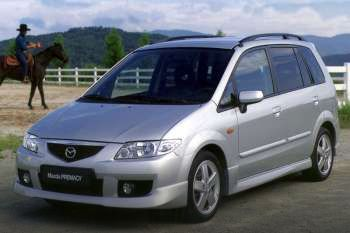 2001 mazda premacy 5-door specs | cars-data