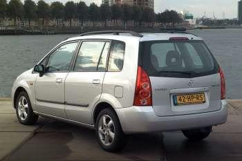 mazda premacy 1 8 comfort manual 5 door specs cars data com rh cars data com  2012 Mazda Premacy 7 Seater