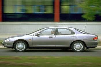 mazda xedos 6 2 0i v6 excellent manual 4 door specs cars data com rh cars data com