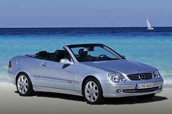 Mercedes CLK-class Cabriolet