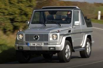 Mercedes-Benz G-class Cabriolet
