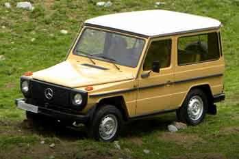 Mercedes-Benz G-class Stationwagon Kort