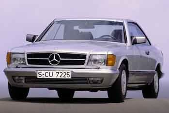 1982 Mercedes-Benz S-class Coupe