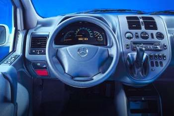 Mercedes-Benz V-klasse - interieur