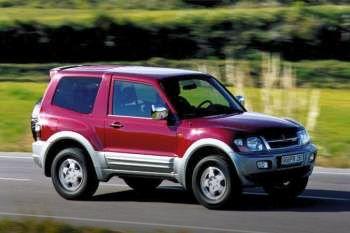 Mitsubishi Pajero 32 DiD GLX Automatic 2002  2003 165 Hp 3