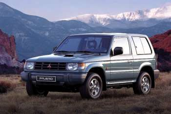 1997 Mitsubishi Pajero 3-door specs | cars-data com