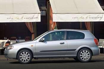 nissan almera 1.8 tekna, automatic, 2002 - 2004, 116 hp, 3 doors