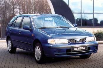 nissan almera 1998 pictures 1 of 10 cars. Black Bedroom Furniture Sets. Home Design Ideas