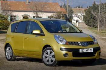 nissan note 2006 specifications