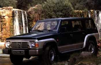 Nissan Patrol Wagon GR