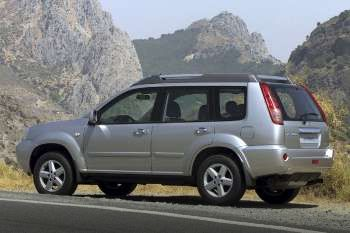 nissan x trail 2 2 dci 4wd elegance manual 2003 2006 136 hp 5 doors technical specifications. Black Bedroom Furniture Sets. Home Design Ideas