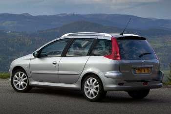 peugeot 206 sw xs quicksilver 1.6-16v manual 5 door specs   cars