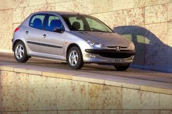 peugeot 206 roland garros 1 6 16v automatic 2000 2002 110 hp 5 doors technical specifications. Black Bedroom Furniture Sets. Home Design Ideas
