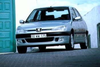peugeot 306 xn 1.4, manual, 1997 - 1999, 75 hp, 4 doors technical