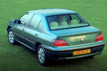 2002 Peugeot 406 4-door specs | cars-data.com