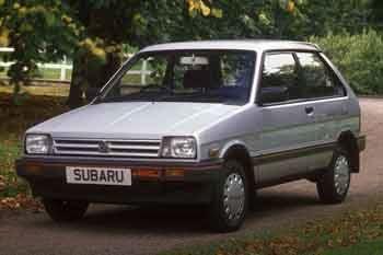 1984 Subaru Justy