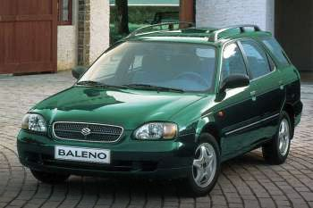 Suzuki Baleno Wagon 1998 Pictures Images