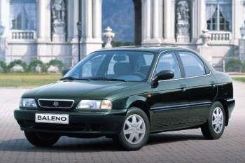 Suzuki Baleno on 1995 Dodge Suv