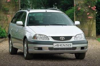 toyota avensis wagon 2000 - 2003 models - 5-door wagon