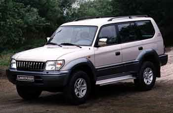 1996 Toyota Land Cruiser 90 Wagon
