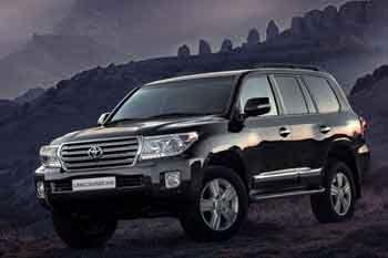 Toyota Land Cruiser V8 4 5 D 4d Vx Sequential Automatic 5 Door Specs
