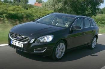 volvo v60 d3, manual, 2010 - 2011, 163 hp, 5 doors technical