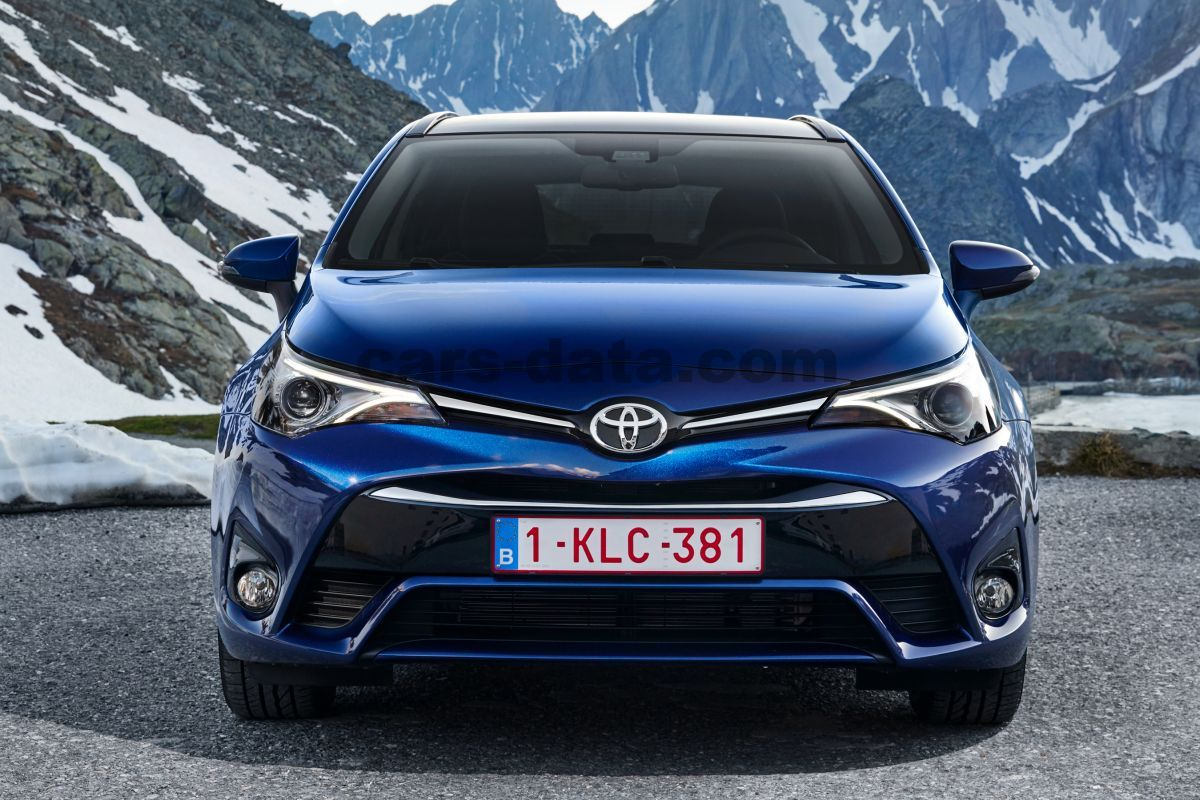 toyota avensis touring sports 2015 pictures 33 of 34 cars. Black Bedroom Furniture Sets. Home Design Ideas