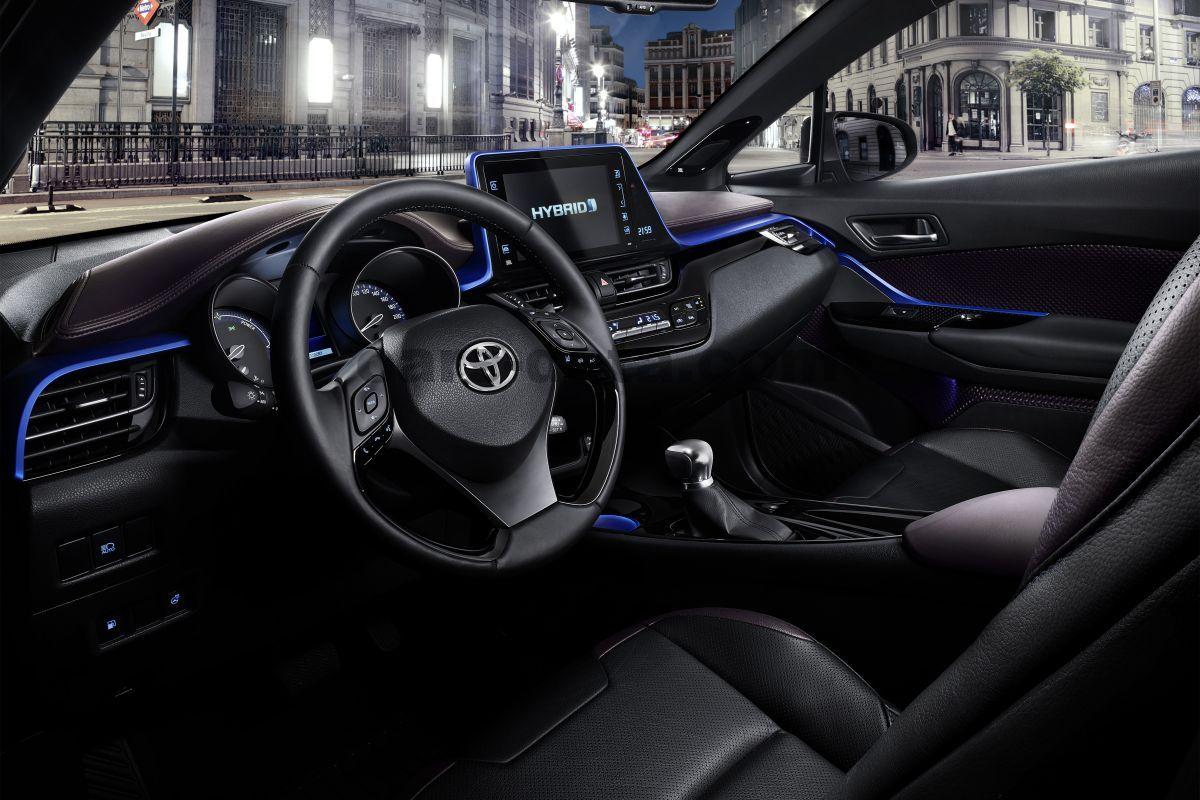 Toyota C-HR 2016 bilder, Toyota C-HR 2016 bilder (41 av 48)