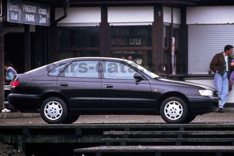 Japanese Car Brands >> Toyota Carina E 1992 pictures (3 of 4) | cars-data.com